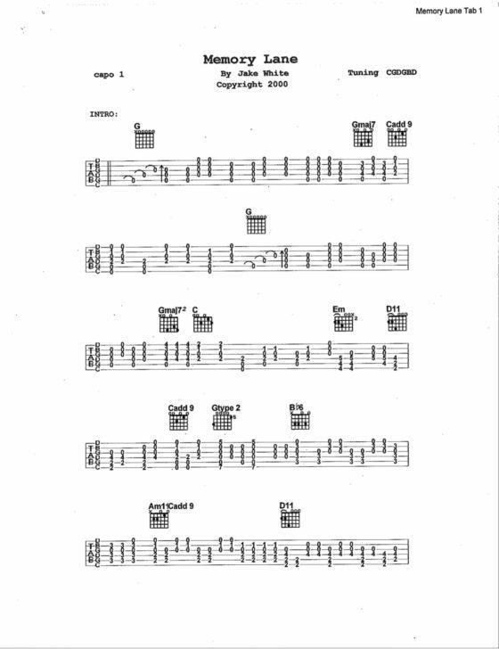 sheet_music-memory_lane